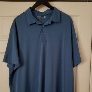 Mens polo shirt/ performance shirt/dri-fit